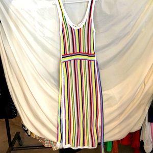 Marie Oliver NWT Crochet Form Fitting Midi Dress